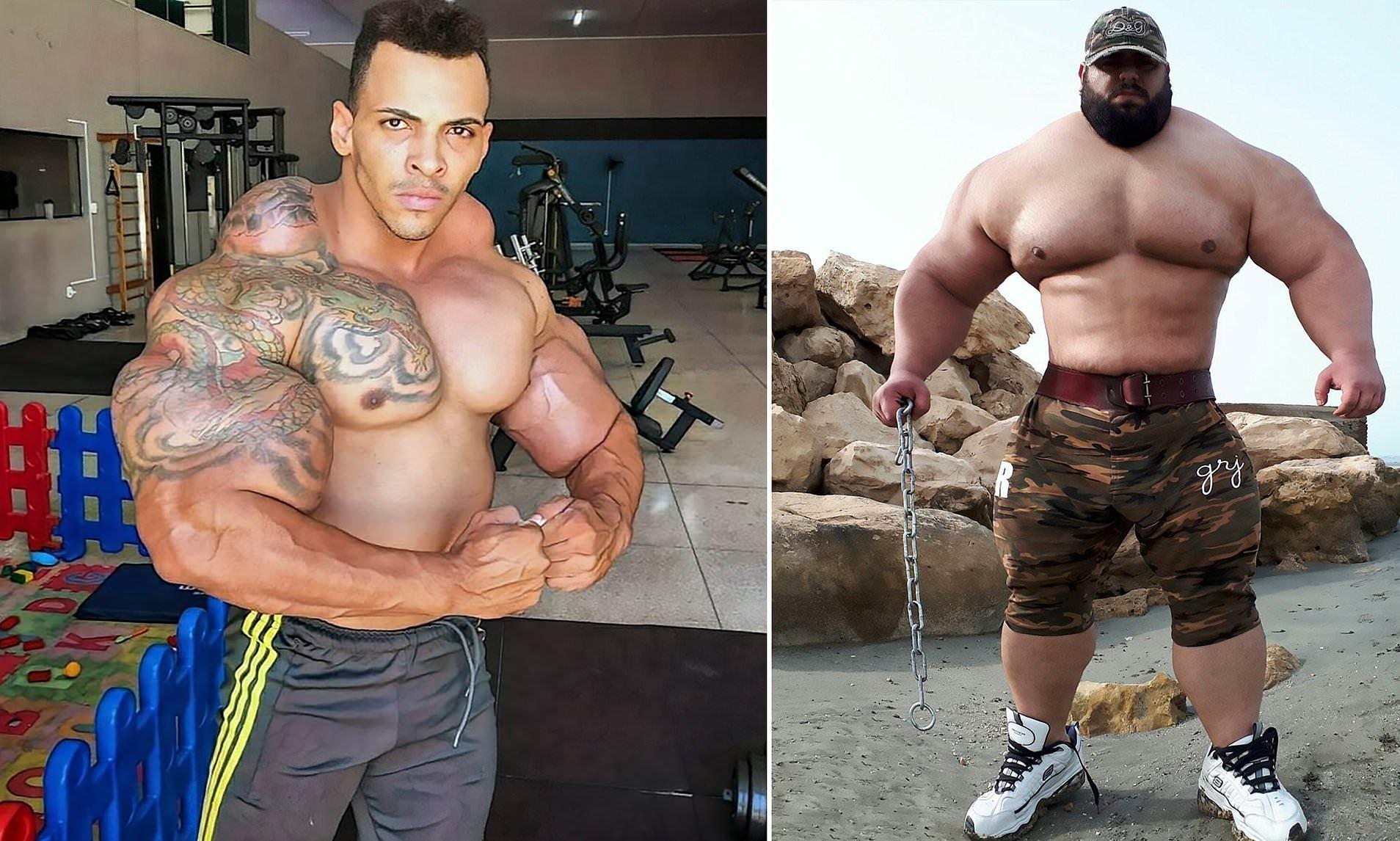 Brazilian Hulk Iranian Hulk