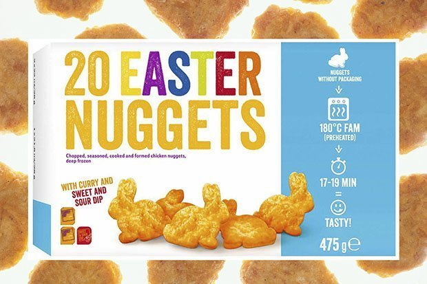 Lidl Are Selling Bunny Shaped Chicken Nuggets For Easter