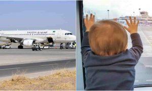 Saudi Plane Baby