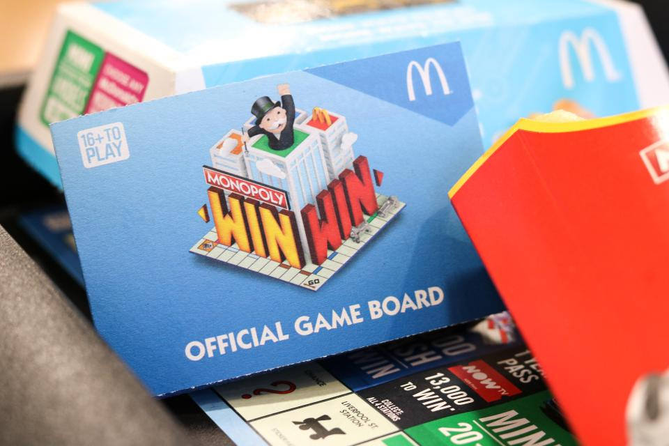 McDonald's Monpoly