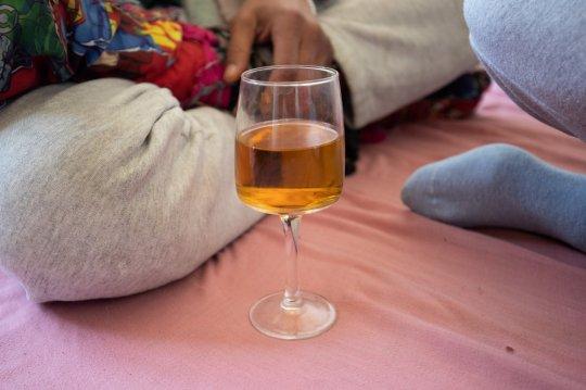 urine wine