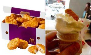 chicken nugget ice cream