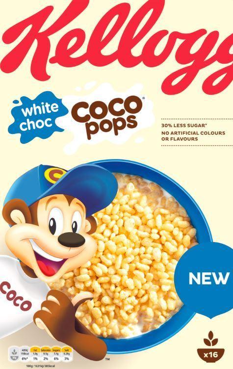 White chocolate Coco Pops 1