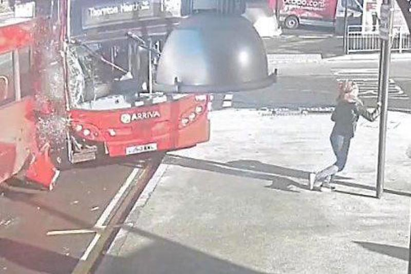 London Bus Driver Smashes Into Depot During Super Bad Crack Cocaine