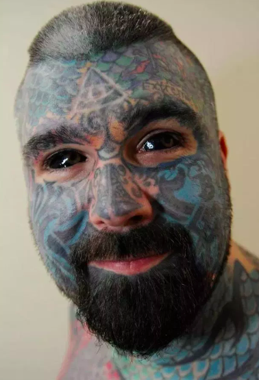 Britain's Most Tattooed Man Can't Understand Why He's Still