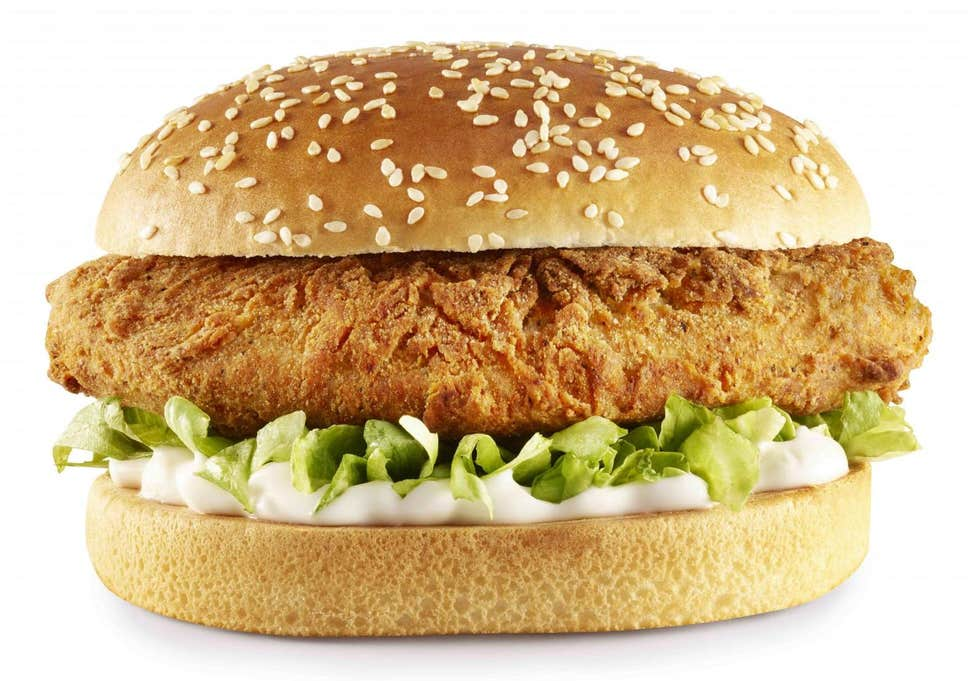 vegan burger KFC