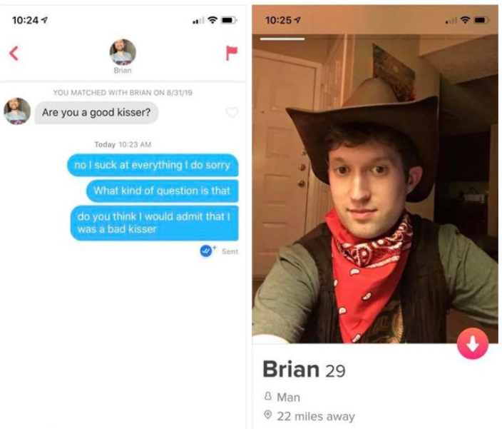 The Best And Worst Tinder Profiles And Conversations In The
