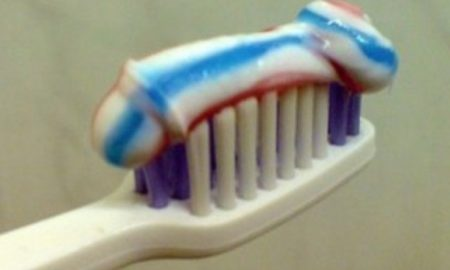 toothpaste penis