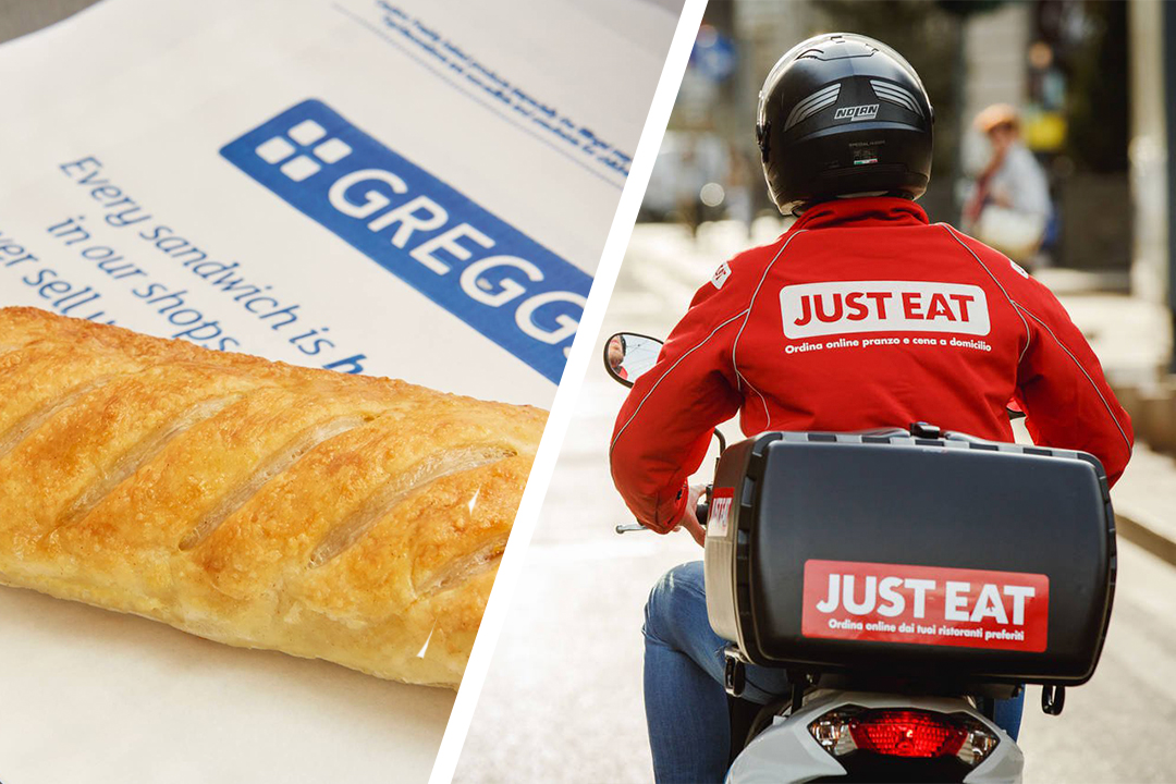 Greggs Have Teamed Up With Just Eat For Home Delivery