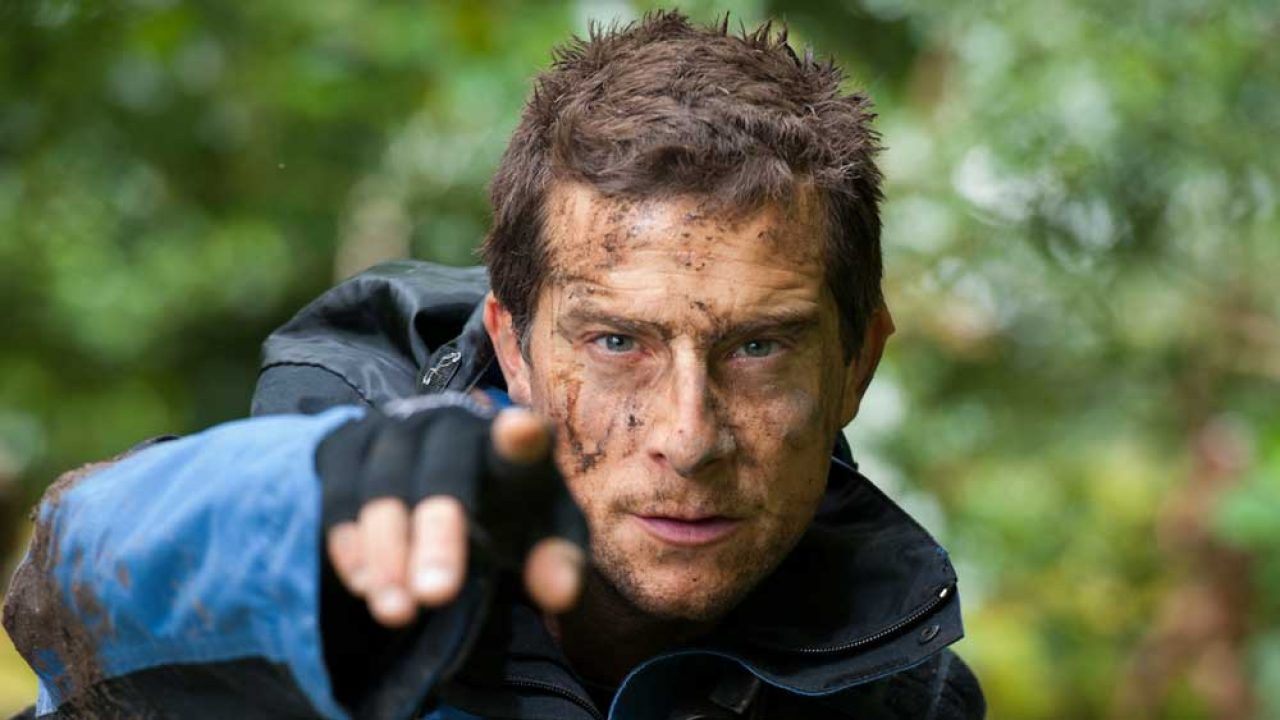 Bear Grylls accidentally bares all during live stream