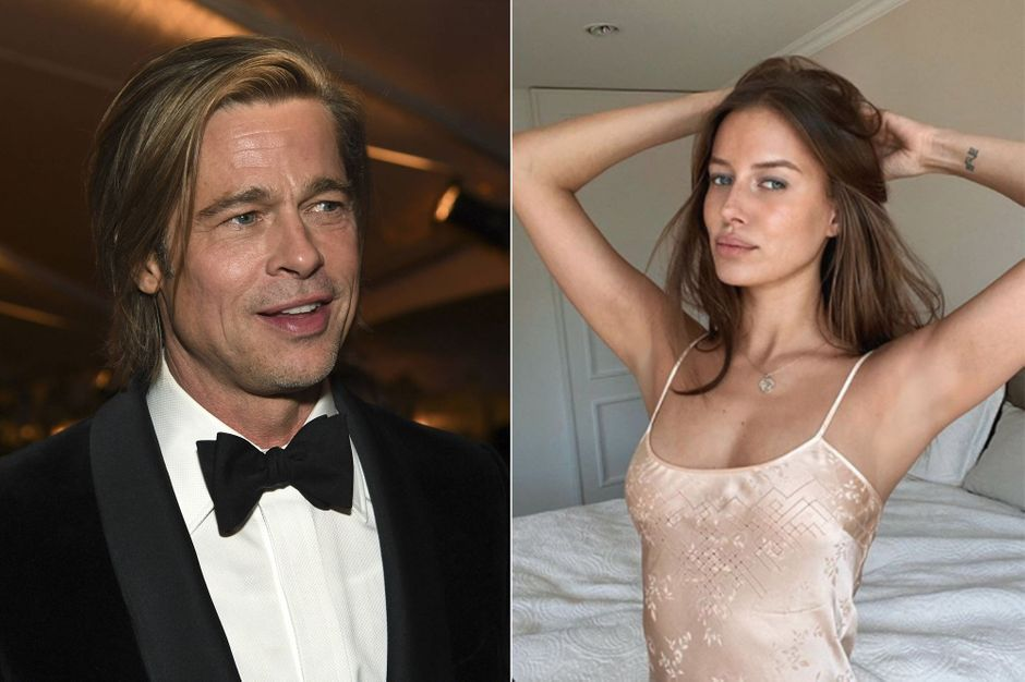 Brad Pitts New Girlfriend Is Actually Married To A 68