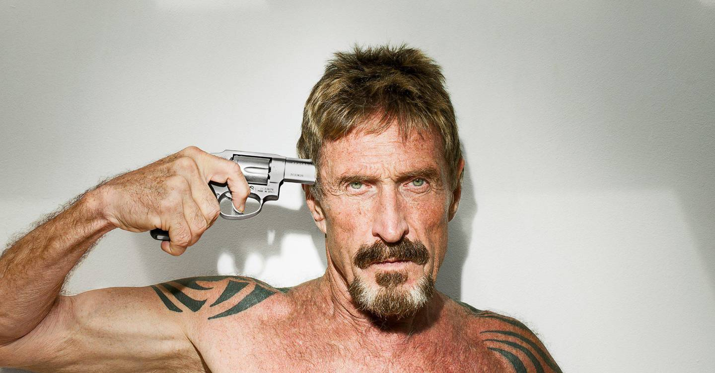 Antivirus Tycoon John McAfee Has Been Arrested In Spain For Tax Evasion -  Sick Chirpse